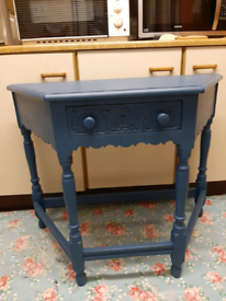Lovely old upcycled side table