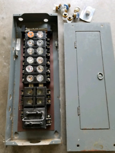 Electrical Panel 100 Amp Fuse Panel