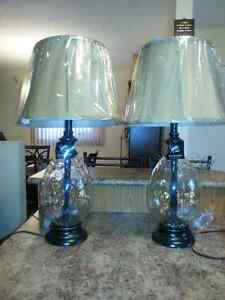A Pair of Ashley Signature Bedside Lamp