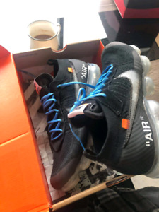 Off White Vapormax size 13