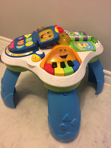 Fisher-Price Play and Learn Table $15