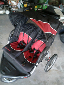 Baby Trend Expedition Double Stroller soldppu