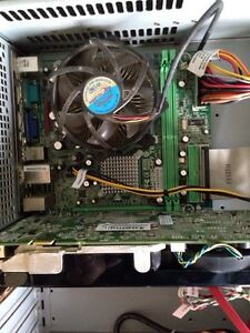 CPU, motherboard and 2GB ram