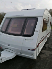 Swift 4 berth fixed bed caravan 2006