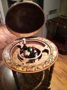 Globe - bar sur les roulettes