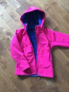 Manteau fille printemps 6-7 ans