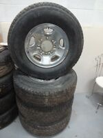 4 Timberline Dayton Tires All Seasons with Rims