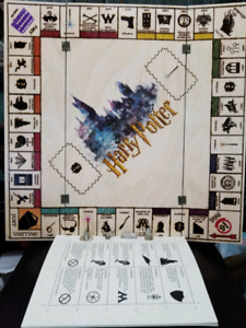 Harry Potter Monopoly Custom Made
