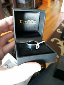 King Will The Vow Keeper Tungsten Ring Size 9 brand new in box