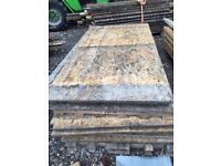 Timber OSB external used boards