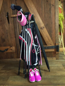 NEUF: sac de golf Cleveland Bloom Femme gaucher