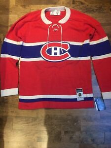 Montreal Canadiens CCM Classic Sweater (size: Large)