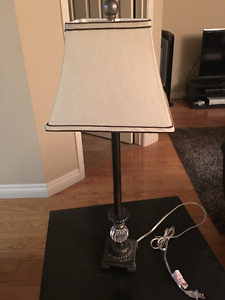 End Table Lamp- Almost NEW! $10 OBO