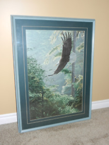 Bald Eagle Hanging Picture