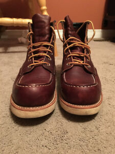 Red Wing Classic Moc 6 inch Boots - Style No. 8138