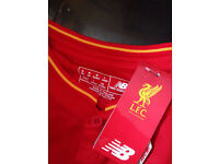 Brand new Liverpool home and away tops (not iPhone iPad Xbox ps4 Galaxy bmw Audi)
