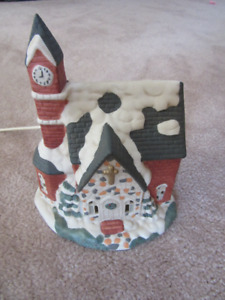 Charles Dickens Victorian Collection Lighted Church