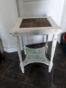End table or night stand.