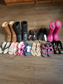 Bundle of girls footwear size 3 eur 36
