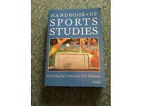 Sport Sociology text book