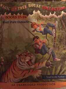 Magic Tree House Books 17-24 audio book