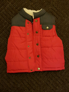 4T boys new with tags Red Fall/Winter Vest