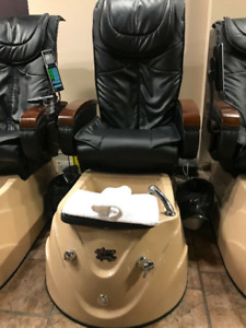 Used Aqua Jet Pedicure Chairs