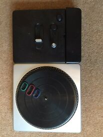 DJ hero turntable for the wii