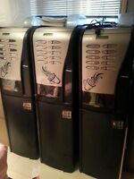 2 Saeco Commercial Coffee Vending Machines