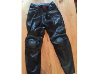 Dainese Pelle Alien leather motorcycle trouser