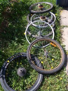 24 inch Wheels, rims, tires & tubes