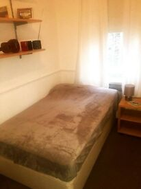 Lovely double room, just redecorated in 4 bed flat