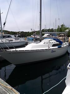 C&C 25' Sailboat