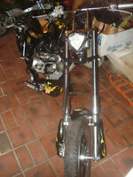 Custom off/on road 110cc Mini Chopper 8 foot bike(UNIQUE)