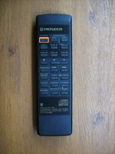 Pioneer PD-DM 802 CD Player Remote Controls