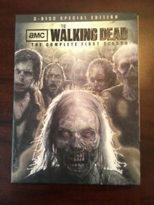 WALKING DEAD Complete first season 3 DVD special edition