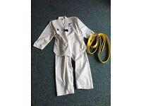 Taekwondo suit size 160