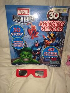 Marvel superhero activity center