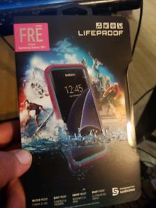 Pink lifeproof case for Samsung galaxy s8 plus