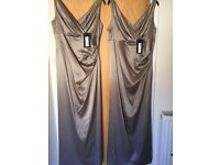 Bridesmaids evening gowns size 12 and 16