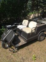 3 wheel Harley Davidson golf cart