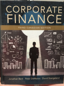 Corporate Finance, Third Canadian Edition (Access Card Included)
