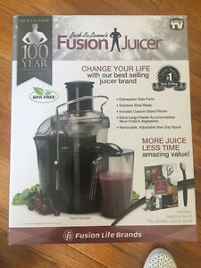 Fusion Juicer with Ultimate Juicing Guide