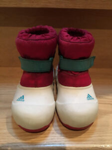 Girls Toddler Adidas Winter Boots Size 8