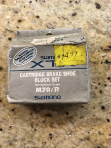 Shimano XTR Brake Shoes - Never used