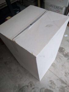 """Moving Boxes New 17x18x33, 18x12x6, 28x12x6, 20x32x24"""", corrugtd"""