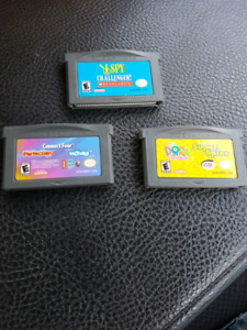 3 game boy advanced games