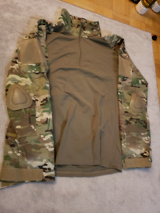 Multicam Combat Shirt and Pants