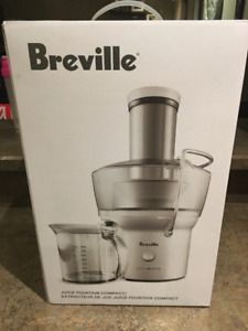 Breville Juice Fountain Compact NEW!!