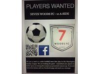 Football Players wanted 11 aside - 11aside Amateur Warrington Sunday leagues